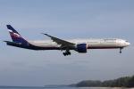 sky-spotterさんが、プーケット国際空港で撮影したアエロフロート・ロシア航空 777-3M0/ERの航空フォト(飛行機 写真・画像)