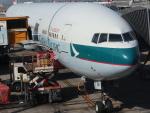 Fly Yokotayaさんが、香港国際空港で撮影したキャセイパシフィック航空 777-367/ERの航空フォト(飛行機 写真・画像)