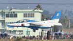 こびとさんさんが、新田原基地で撮影した航空自衛隊 T-4の航空フォト(飛行機 写真・画像)