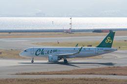 lonely-wolfさんが、関西国際空港で撮影した春秋航空 A320-251Nの航空フォト(飛行機 写真・画像)