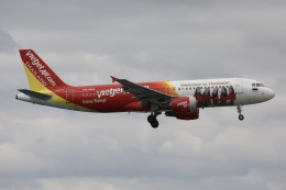 sky-spotterさんが、プーケット国際空港で撮影したタイ・ベトジェットエア A320-214の航空フォト(飛行機 写真・画像)