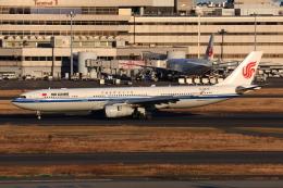 やつはしさんが、羽田空港で撮影した中国国際航空 A330-343Xの航空フォト(飛行機 写真・画像)