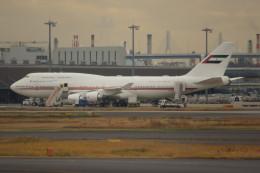 しんさんが、羽田空港で撮影したドバイ・ロイヤル・エア・ウィング 747-422の航空フォト(飛行機 写真・画像)