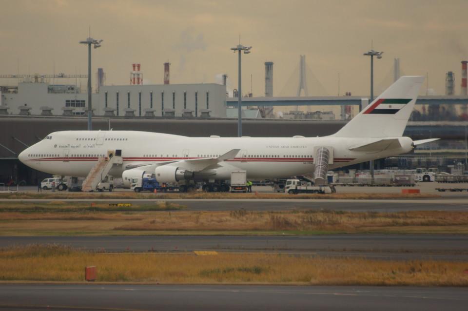 しんさんのドバイ・ロイヤル・エア・ウィング Boeing 747-400 (A6-HRM) 航空フォト