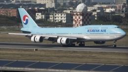 coolinsjpさんが、台湾桃園国際空港で撮影した大韓航空 747-8B5の航空フォト(飛行機 写真・画像)