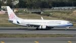 coolinsjpさんが、台湾桃園国際空港で撮影したチャイナエアライン 737-8ALの航空フォト(飛行機 写真・画像)
