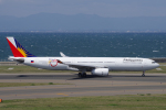 yabyanさんが、中部国際空港で撮影したフィリピン航空 A330-343Eの航空フォト(飛行機 写真・画像)