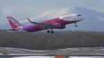 T-ORIさんが、新千歳空港で撮影したピーチ A320-214の航空フォト(飛行機 写真・画像)