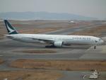 ヒコーキグモさんが、関西国際空港で撮影したキャセイパシフィック航空 777-367の航空フォト(飛行機 写真・画像)