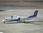 ヒコーキグモさんが、伊丹空港で撮影したANAウイングス DHC-8-402Q Dash 8の航空フォト(飛行機 写真・画像)