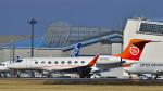 パンダさんが、成田国際空港で撮影したTVPX ARS INC TRUSTEE G650 (G-VI)の航空フォト(飛行機 写真・画像)