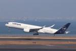 KAZFLYERさんが、羽田空港で撮影したルフトハンザドイツ航空 A350-941XWBの航空フォト(飛行機 写真・画像)