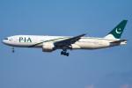 renseiさんが、成田国際空港で撮影したパキスタン国際航空 777-240/ERの航空フォト(飛行機 写真・画像)