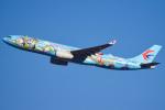 renseiさんが、成田国際空港で撮影した中国東方航空 A330-343Xの航空フォト(飛行機 写真・画像)