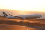 クロマティさんが、中部国際空港で撮影したキャセイパシフィック航空 A350-1041の航空フォト(飛行機 写真・画像)