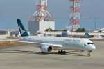 ktaroさんが、関西国際空港で撮影したキャセイパシフィック航空 A350-941の航空フォト(飛行機 写真・画像)
