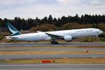 NANASE UNITED®さんが、成田国際空港で撮影したキャセイパシフィック航空 777-367の航空フォト(飛行機 写真・画像)
