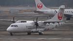 オキシドールさんが、鹿児島空港で撮影した北海道エアシステム ATR-42-600の航空フォト(飛行機 写真・画像)