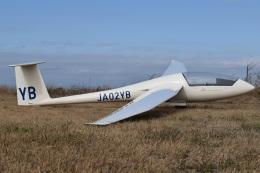 MOR1(新アカウント)さんが、羽生滑空場で撮影した羽生ソアリングクラブ Discus CSの航空フォト(飛行機 写真・画像)