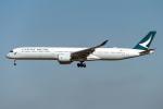 こうきさんが、成田国際空港で撮影したキャセイパシフィック航空 A350-1041の航空フォト(飛行機 写真・画像)