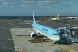 Y.Hさんが、済州国際空港で撮影した大韓航空 737-9B5の航空フォト(飛行機 写真・画像)