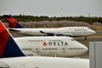 Cygnus00さんが、成田国際空港で撮影したデルタ航空 747-451の航空フォト(飛行機 写真・画像)