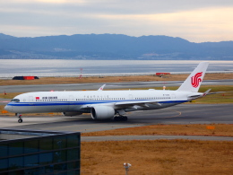 yutopさんが、関西国際空港で撮影した中国国際航空 A350-941XWBの航空フォト(飛行機 写真・画像)