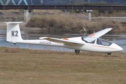 MOR1(新アカウント)さんが、角田滑空場で撮影した日本個人所有 ASK 21の航空フォト(飛行機 写真・画像)