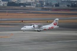 さかいさんが、伊丹空港で撮影した日本エアコミューター ATR-42-600の航空フォト(飛行機 写真・画像)