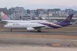 みっしーさんが、福岡空港で撮影したタイ国際航空 A330-343Xの航空フォト(飛行機 写真・画像)