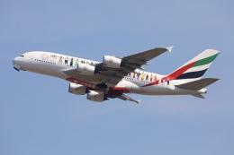 sky-spotterさんが、スワンナプーム国際空港で撮影したエミレーツ航空 A380-842の航空フォト(飛行機 写真・画像)