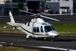 Mizuki24さんが、東京ヘリポートで撮影したノエビア AW109SP GrandNewの航空フォト(飛行機 写真・画像)
