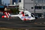 Mizuki24さんが、東京ヘリポートで撮影した朝日航洋 MD-900 Explorerの航空フォト(飛行機 写真・画像)