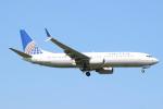 エアさんが、成田国際空港で撮影したユナイテッド航空 737-824の航空フォト(飛行機 写真・画像)
