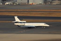 ハム太郎。さんが、羽田空港で撮影した不明。 Falcon 8Xの航空フォト(飛行機 写真・画像)