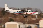 nobu_32さんが、調布飛行場で撮影した朝日航空 208B Grand Caravanの航空フォト(飛行機 写真・画像)