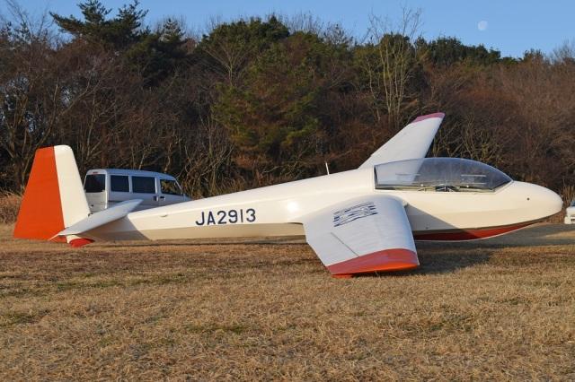 MOR1(新アカウント)さんが、鬼怒川滑空場で撮影した日本個人所有 ASK 13の航空フォト(飛行機 写真・画像)