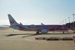 ktaroさんが、関西国際空港で撮影した日本トランスオーシャン航空 737-8Q3の航空フォト(飛行機 写真・画像)