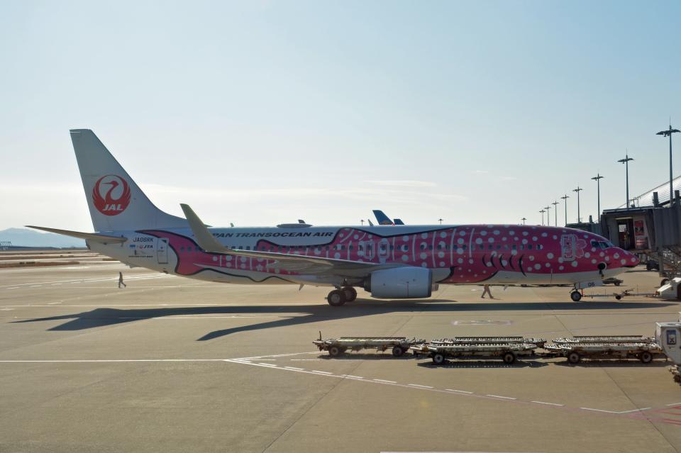 ktaroさんの日本トランスオーシャン航空 Boeing 737-800 (JA06RK) 航空フォト