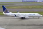 いおりさんが、中部国際空港で撮影したユナイテッド航空 737-824の航空フォト(飛行機 写真・画像)