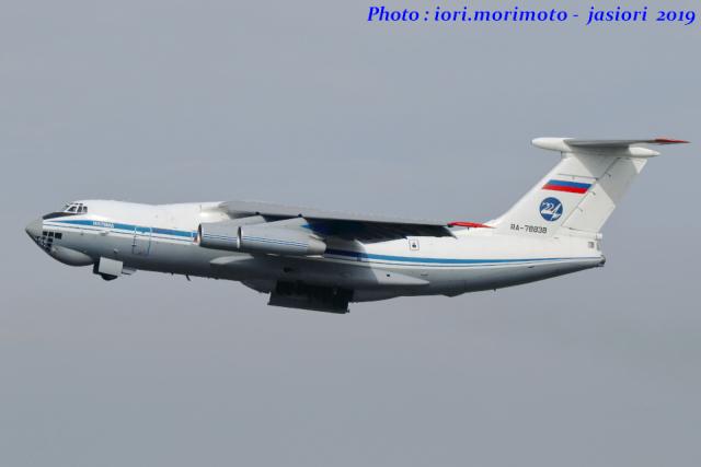 いおりさんが、中部国際空港で撮影したロシア空軍 Il-76MDの航空フォト(飛行機 写真・画像)