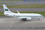 いおりさんが、中部国際空港で撮影したサウジアラビア王室空軍 737-7DP BBJの航空フォト(飛行機 写真・画像)