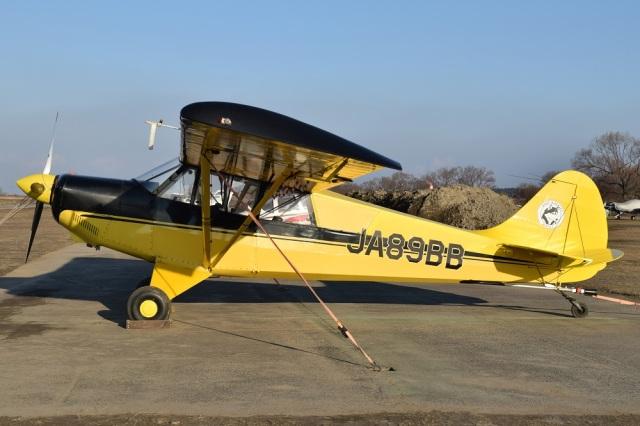 MOR1(新アカウント)さんが、大利根飛行場で撮影した日本モーターグライダークラブ A-1 Huskyの航空フォト(飛行機 写真・画像)