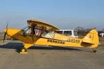 MOR1(新アカウント)さんが、大利根飛行場で撮影した静岡県航空協会 PA-18-150 Super Cubの航空フォト(飛行機 写真・画像)
