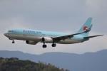 ドラパチさんが、福岡空港で撮影した大韓航空 737-8Q8の航空フォト(飛行機 写真・画像)