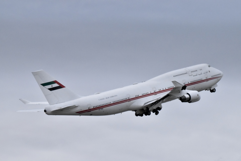 Suzukenさんのドバイ・ロイヤル・エア・ウィング Boeing 747-400 (A6-HRM) 航空フォト