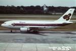 tassさんが、シンガポール・チャンギ国際空港で撮影したタイ国際航空 A310-204の航空フォト(飛行機 写真・画像)