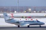 kitayocchiさんが、新千歳空港で撮影した中日本航空 560 Citation Vの航空フォト(飛行機 写真・画像)