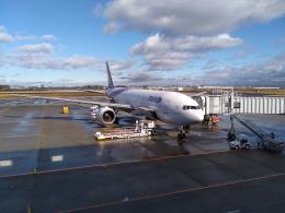 atiiさんが、仙台空港で撮影したタイ国際航空 777-2D7の航空フォト(飛行機 写真・画像)