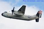 いおりさんが、岩国空港で撮影したアメリカ海軍 C-2A Greyhoundの航空フォト(飛行機 写真・画像)